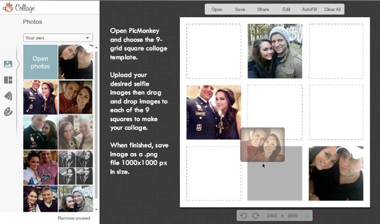 diy printable selfie christmas card a free template r k c