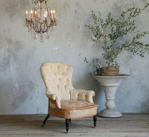 Antique Bergere Chair via Eloquence Inc. as seen on l&l