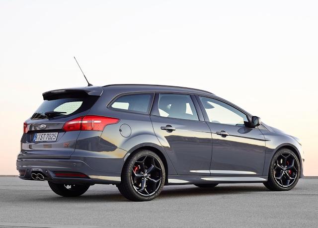 2015 Ford Focus ST Wagon Diesel Stealth Grey