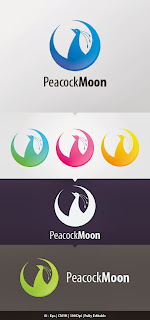 PeacockMoon Logo Template
