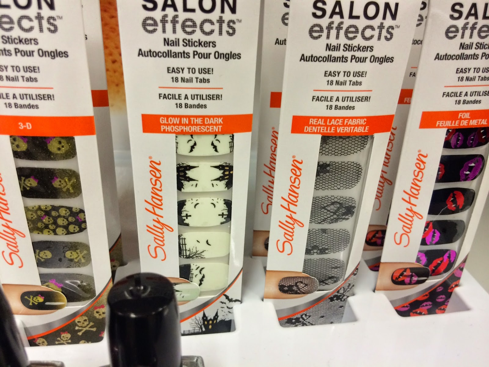 Spotted at Meijer: Halloween 2014 by Kiss, Sally Hansen, Fantasy ...