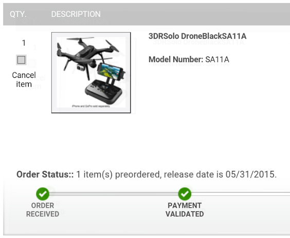 Mr Armageddon's Project Log Quadcopter Drone 3dr Solo Update. I Have Preordered The 3dr Solo And There Is Currently Good News Bad. Wiring. 3dr Solo Drone Wiring Diagram At Scoala.co