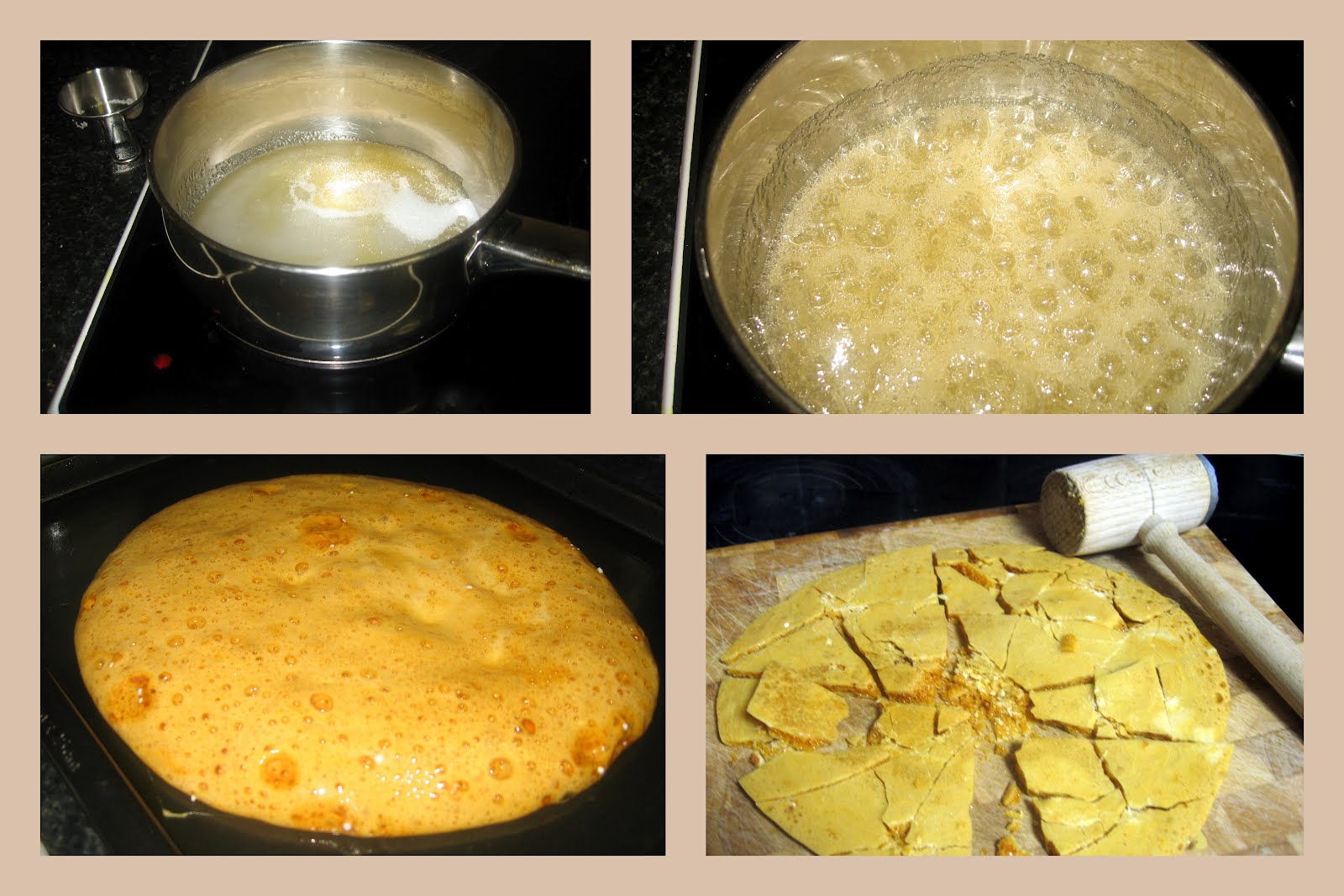 Step by Step Honeycomb Candy @ What's for Dinner ngsdingger@blogspot.com