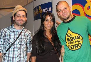 Con Calle 13 y la dipu Viky Donda, para que el Agua sea declarada Derecho Humano!