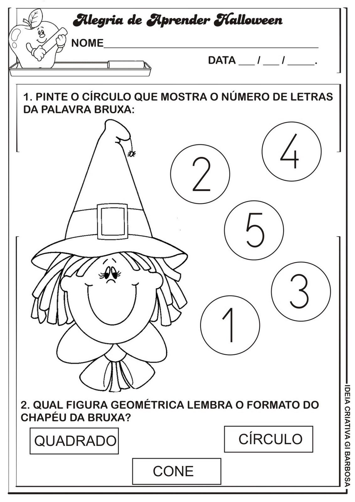 De Letras  Numerais De 0 A 5 E Figuras Geom  Tricas Dentro Da