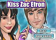 juegos de besar kiss zac efron