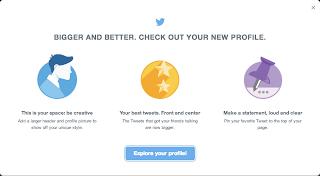 Twitter Mencoba Tampilan Baru