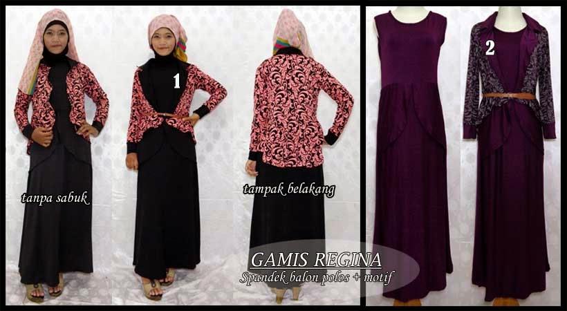 Gamis Panjang Cantik Grosir Baju Murah Muslim Terbaru
