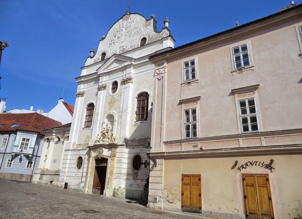 iglesia franciscana bratislava