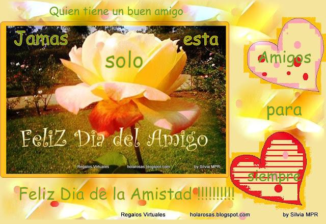 Amistad Amigo Imagenes Tarjetas Regalos Virtuales postales con frases ...