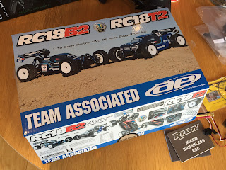 Team Associated RC18B2 and RC18T2 kit