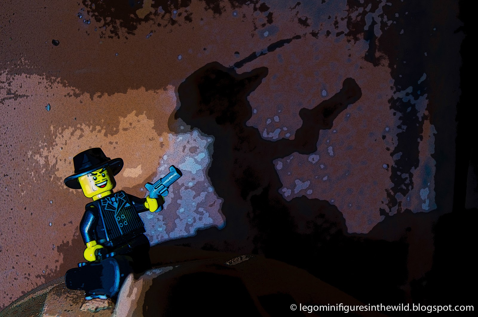 Lego Minifigures Series 5 Gangster - Wallpaper