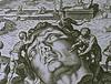 desenho do desmonte da estátua de Rodes
