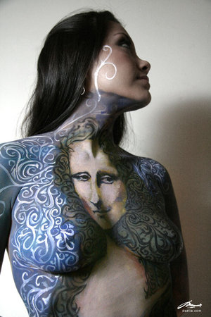 custom body painting