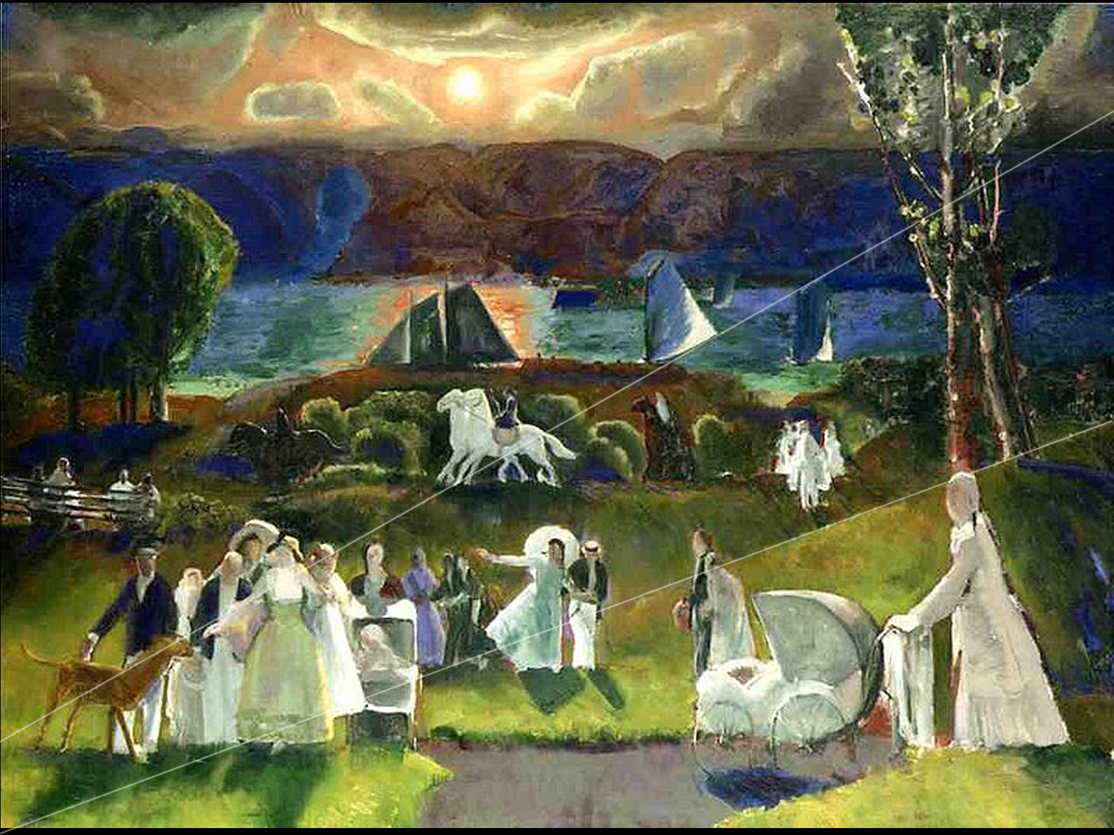 Starr Review: George Bellows and the American Experience