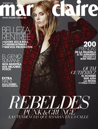 Revista Marie Claire septiembre 2013