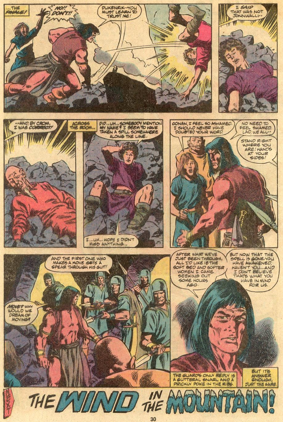 Conan the Barbarian (1970) Issue #122 #134 - English 23