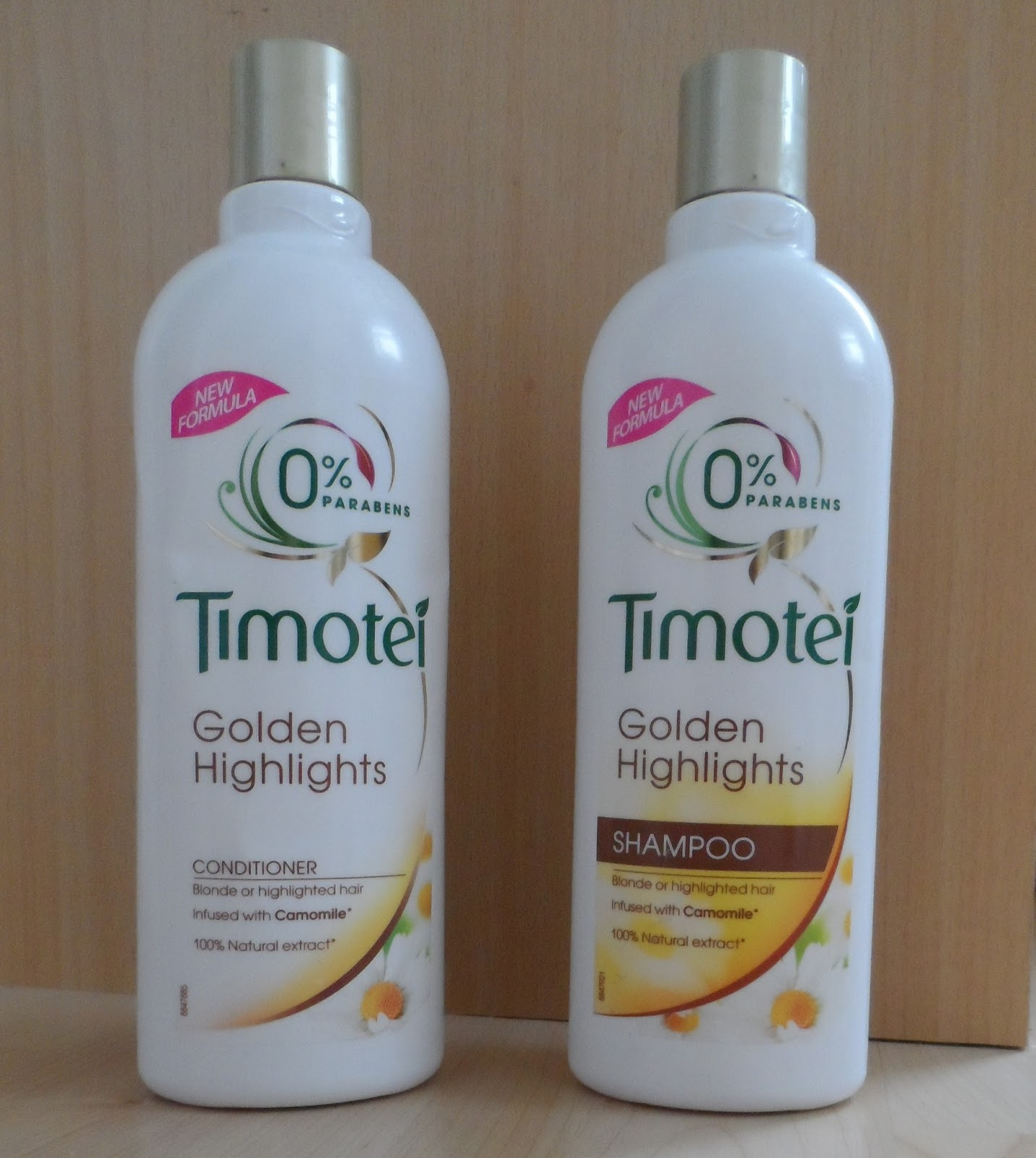 Accent Girl 100 Timotei Golden Highlights Shampoo And Conditioner