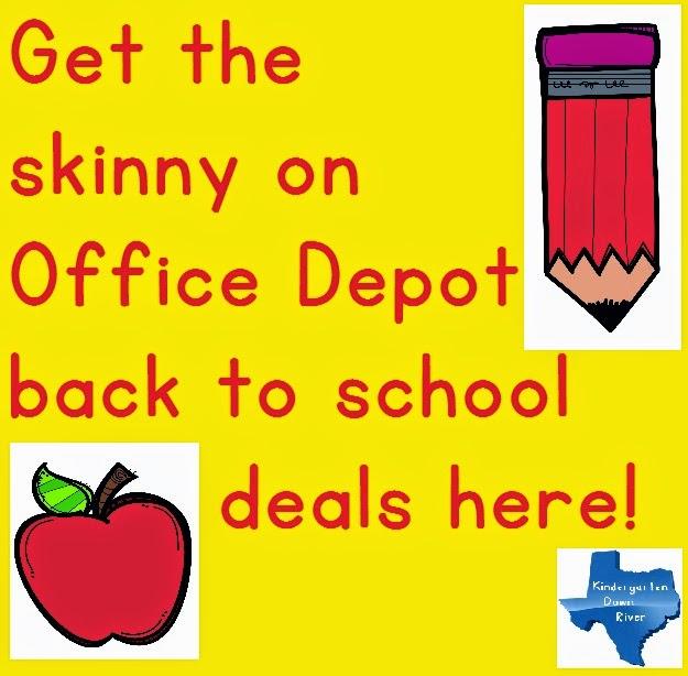 Office depot teacher deals down river resources for Deals by depot