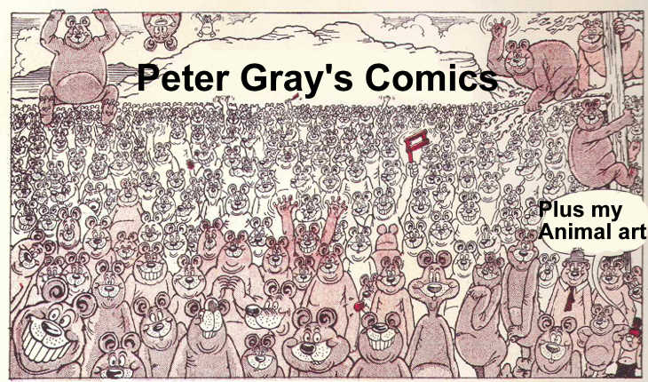 Peter Gray's Comics and Art