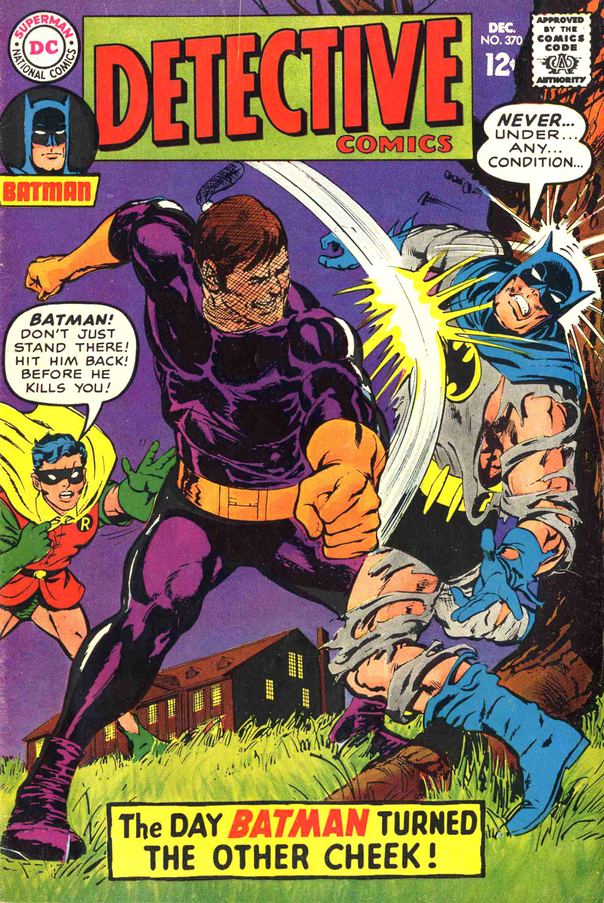 Detective Comics (1937) 370 Page 1