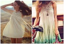 DIY Dresses into Skirts