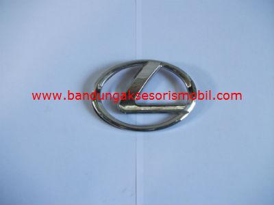 Emblem Logo Mobil Bulat Tempel Lexus