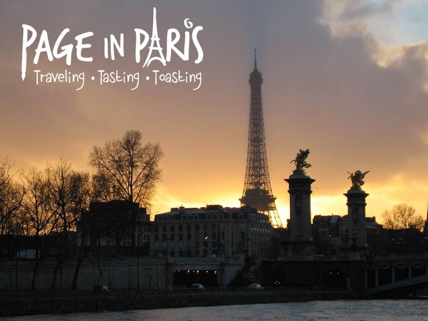 Page in Paris