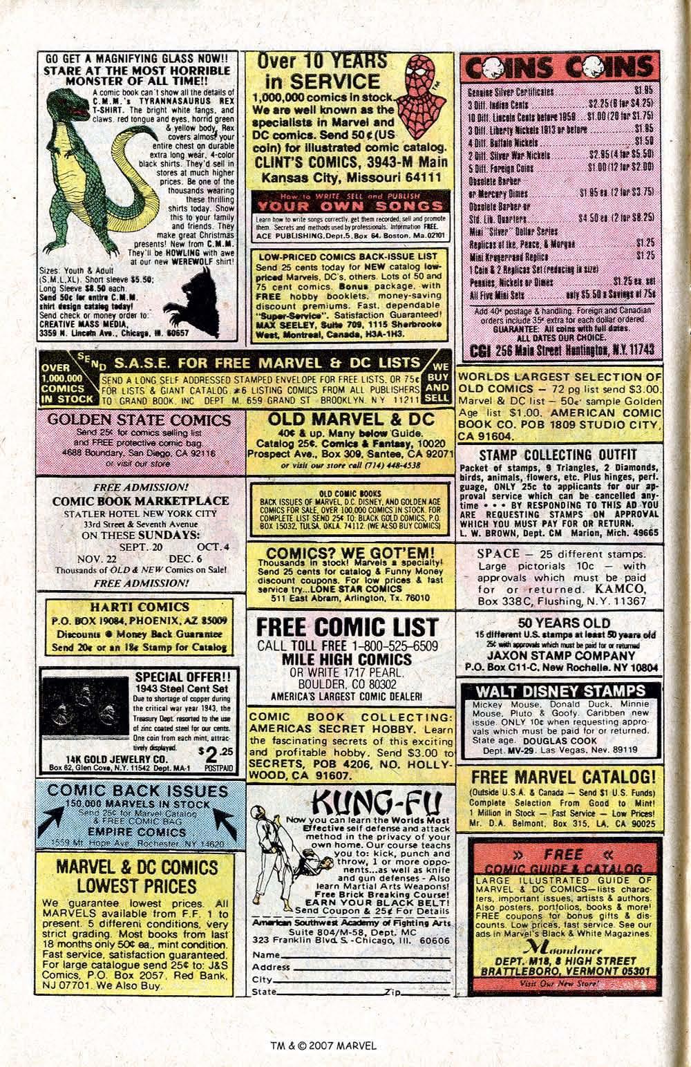 Captain America (1968) Issue #266 #181 - English 6