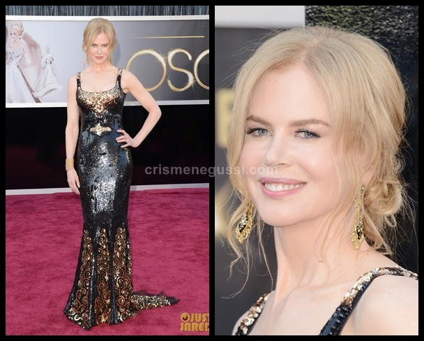 vestido da Nicole Kidman