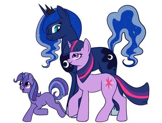 Mlp Pregnant Luna First luna/twilight child