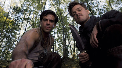 Eli Roth and Brad Pitt in Inglorious Basterds