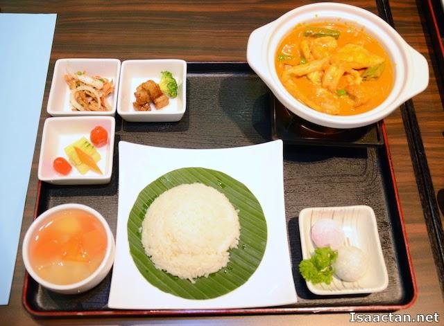 Seafood Curry Hot Pot Set Meal - RM29