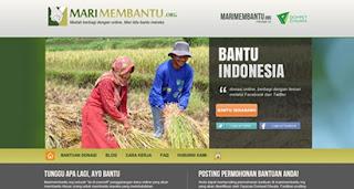 Penggalangan Dana Online dengan Marimembantu.org