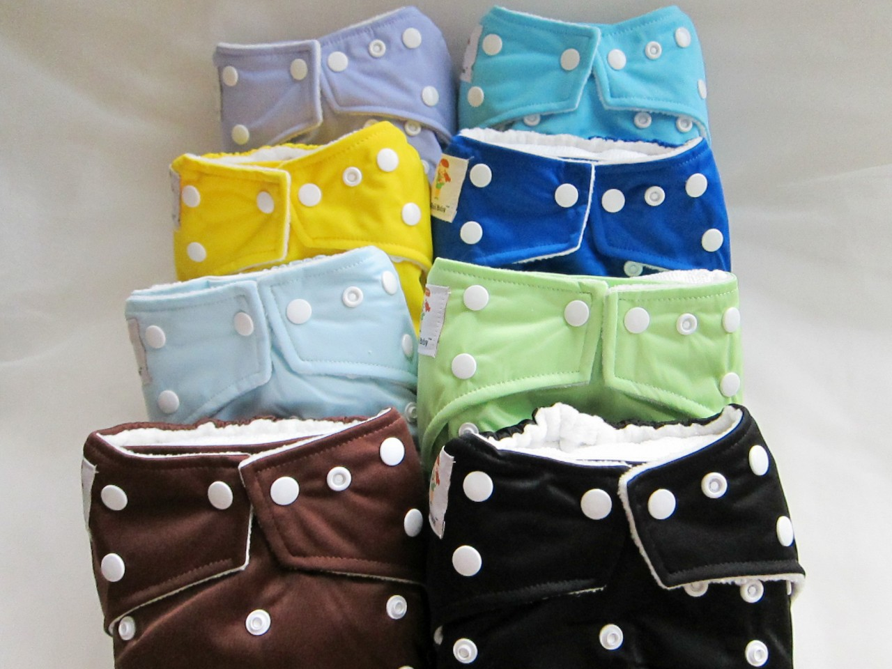 Kawaii Green Baby Cloth Diaper Review