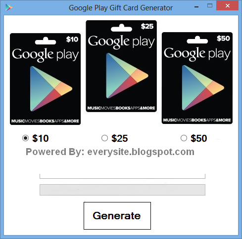 Google Play Gift Card Generator 2014 Free Download No Survey ~ Hacking ...