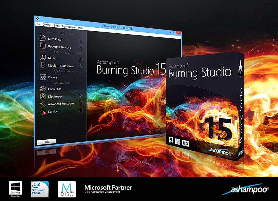 ashampoo burning studio 15 license key only