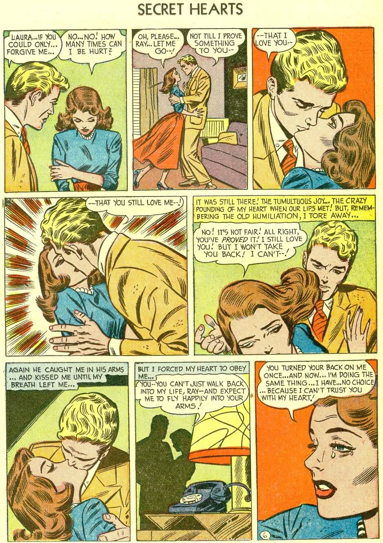 Read online Secret Hearts comic -  Issue #21 - 23