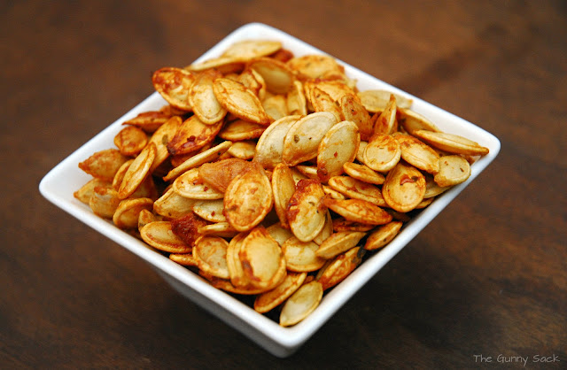 ranch seasoned pumpkin seeds