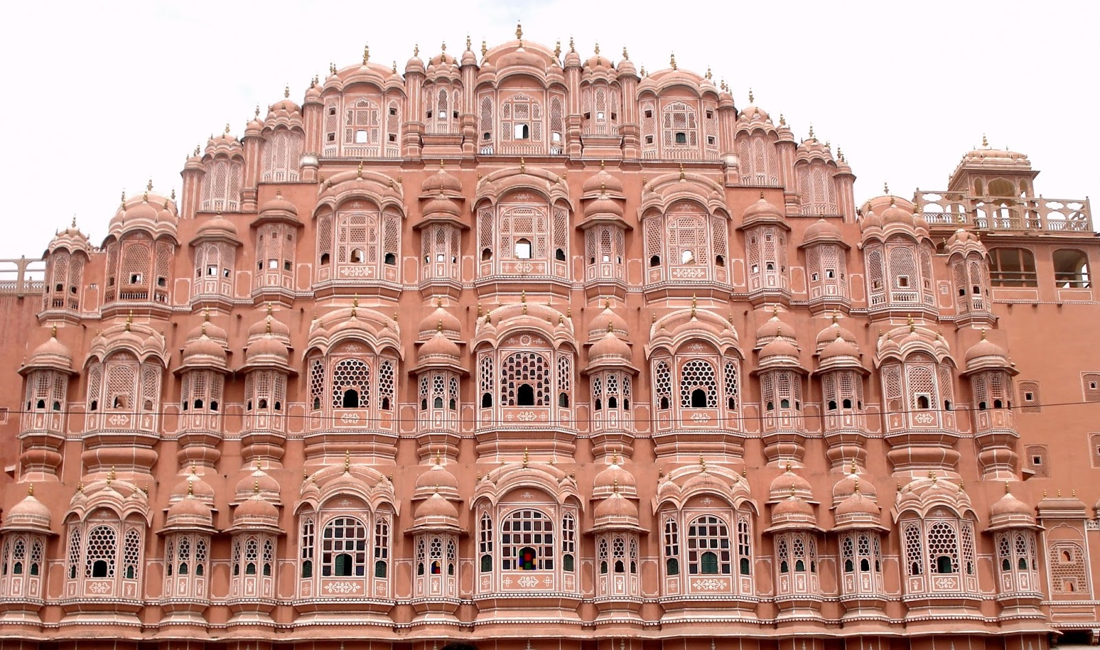 The Hawa Mahal Palace Of The Winds In Jaipur Rajasthan