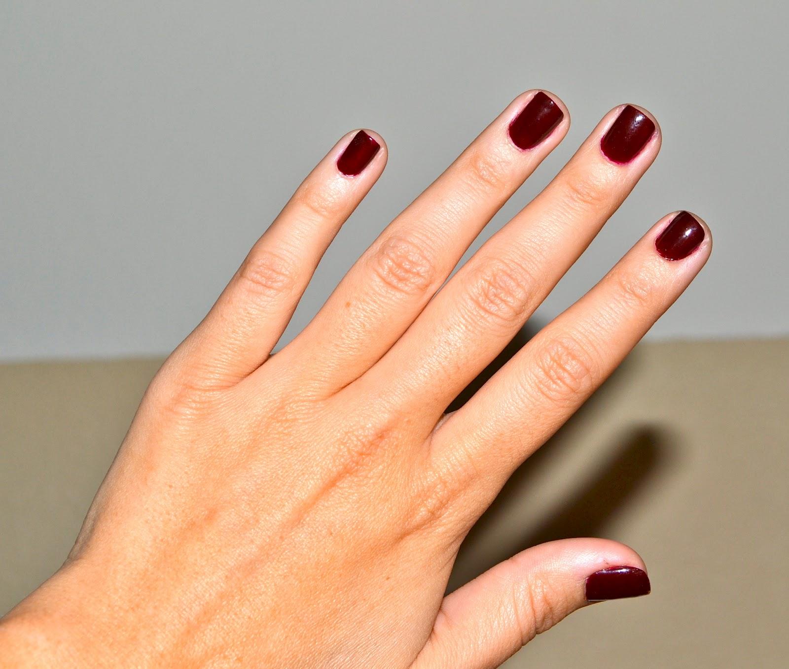 xo Christine Marie: Oxblood Nails