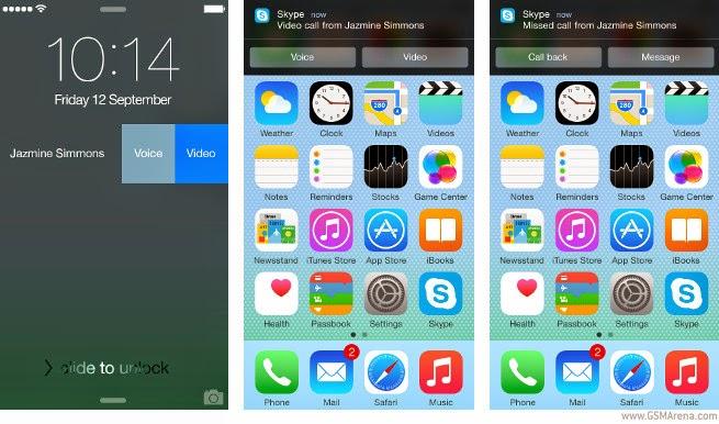 Skype 5.5 for iOS Dilengkapi Dengan Pemberitahuan Interaktif!