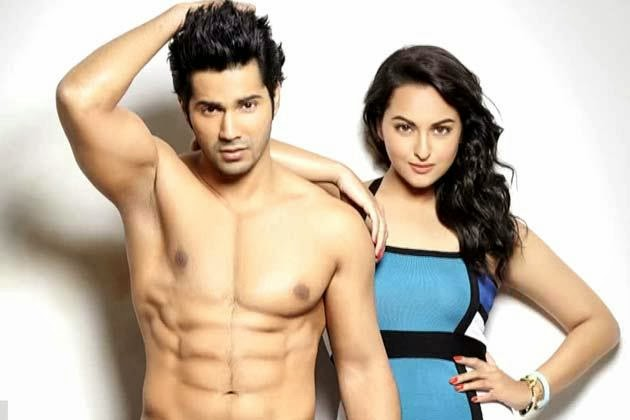 Varun Dhawan and Sonakshi Sinha sexier pairs in bollywood recent unseen rare photoshoot  hd pics