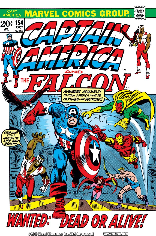 Captain America (1968) Issue #154 #68 - English 1