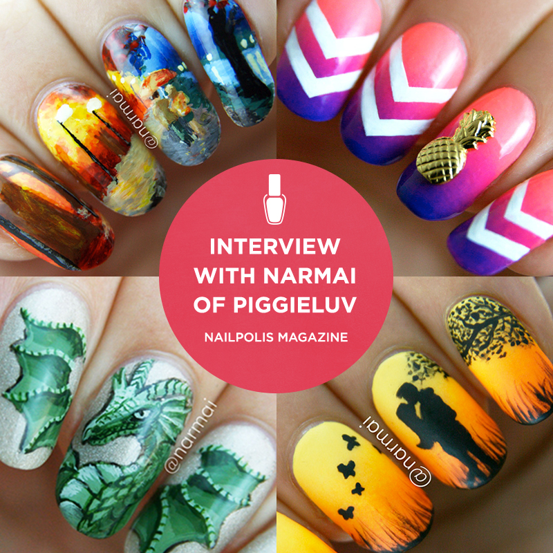 Piggieluv Interview On Nailpolis Museum Of Nail Art