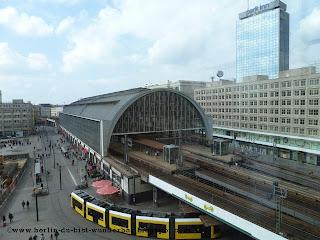 Alexanderplatz, S-bahn, Bahnhof