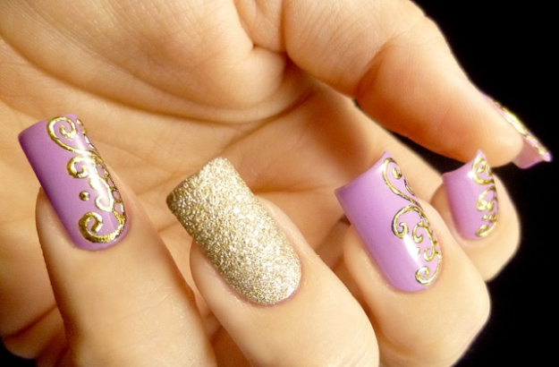 Latest Nail Art Designs 2016 For Girls