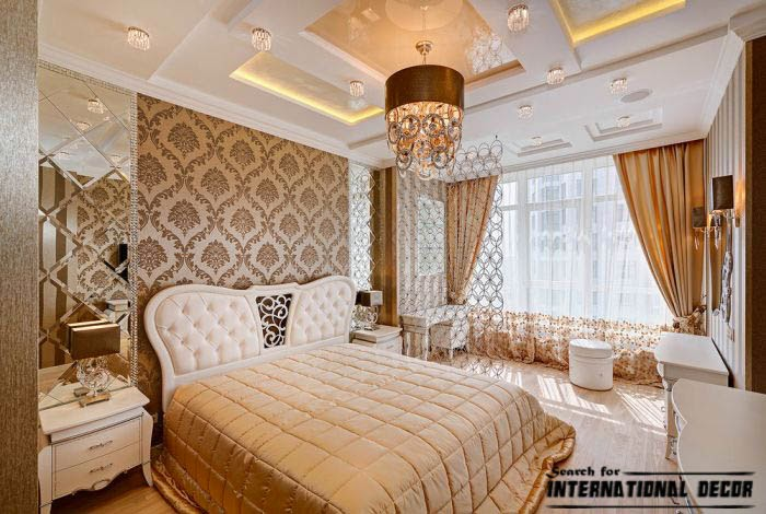 Stylish art deco bedroom designs and furniture Art deco bedroom ideas