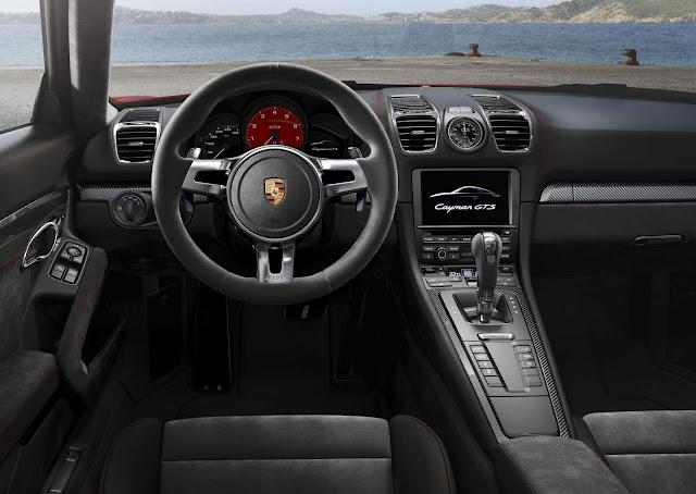 Porsche Cayman GTS 2016 - interior