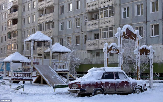 Oymyakon - northeastern of Siberia, Russia
